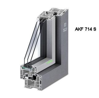 Alu-Kunststofffenster AKF 714 S