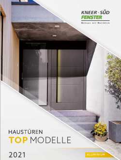 Haustüren Top Modelle - Aluminium