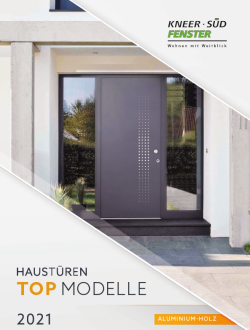 Haustüren Top Modelle - Aluminium Holz
